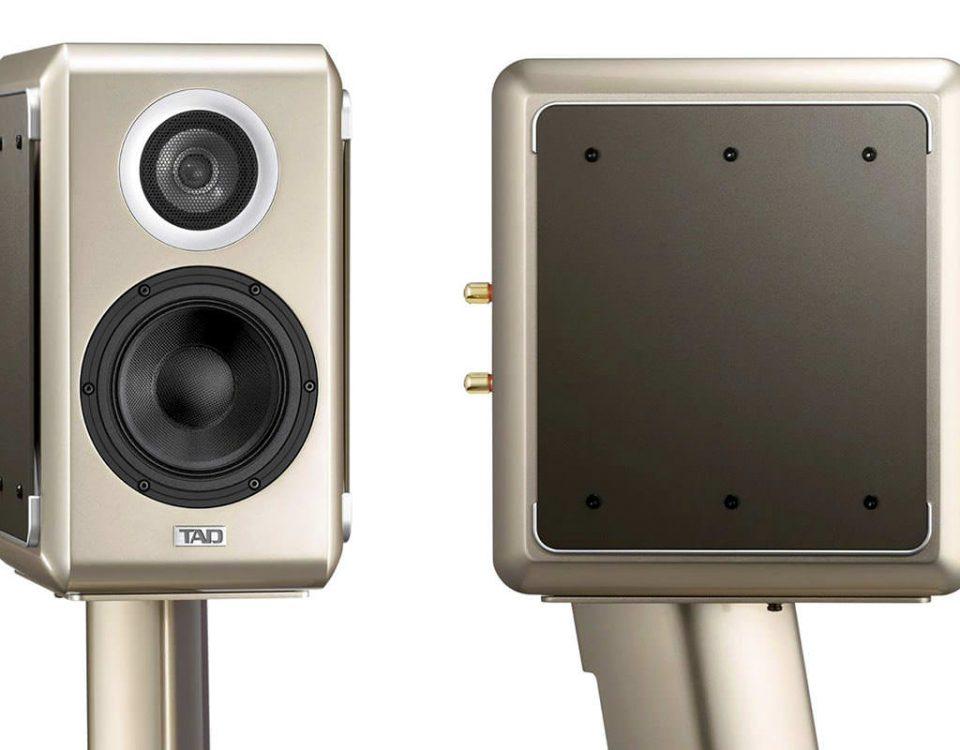 TAD ME1 Lautsprecher Hochglanz Titanium